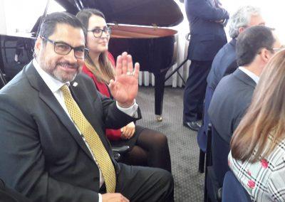 Director de la gestión efr Cafam, Carlos Balaguera, en acto de entrega certificación efr