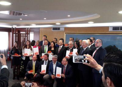 Grupo de organizaciones con sello efr en 2019